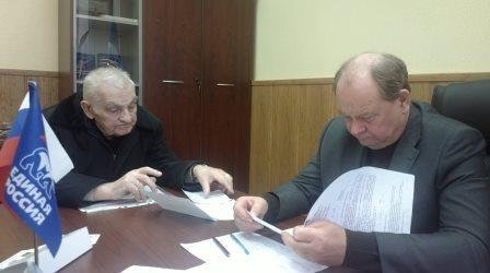 Депутат Мособлдумы Крымов провёл приём домодедовцев (фото) - фото 1