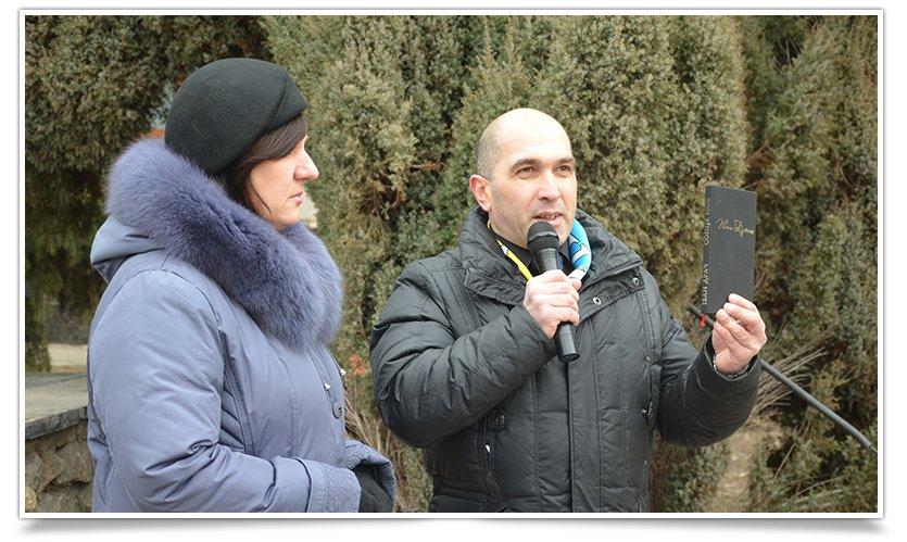 В Славянске прошёл митинг – реквием, посвящённый памяти Небесной Сотне (фото) - фото 3