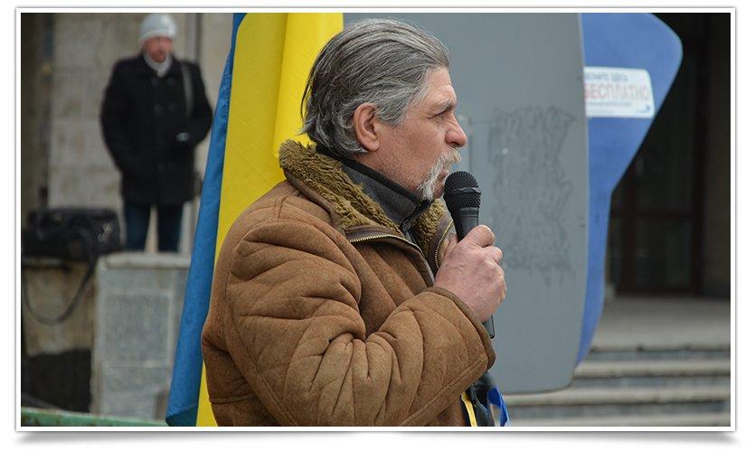 В Славянске прошёл митинг – реквием, посвящённый памяти Небесной Сотне (фото) - фото 4