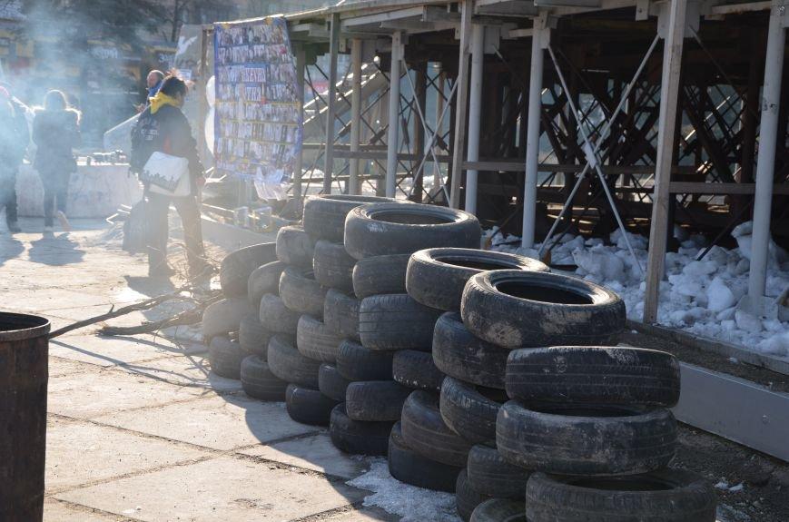 В Мариуполе устроили Майдан на площади павшего Ленина (ФОТО), фото-1
