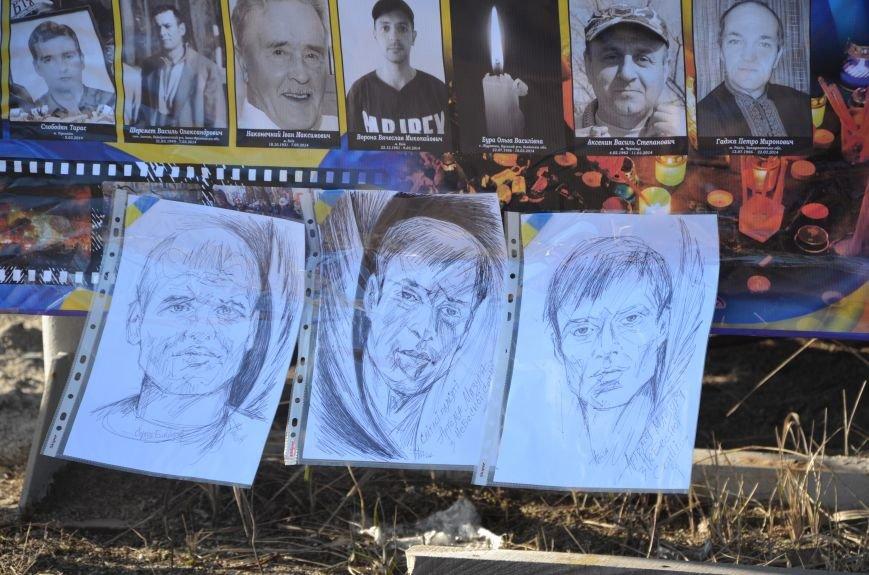 В Мариуполе устроили Майдан на площади павшего Ленина (ФОТО), фото-15