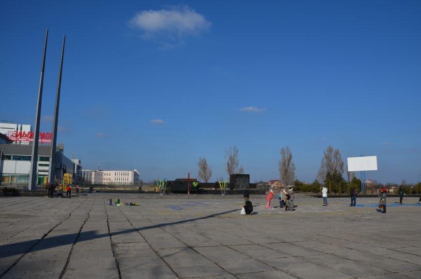 В Мариуполе устроили Майдан на площади павшего Ленина (ФОТО), фото-13