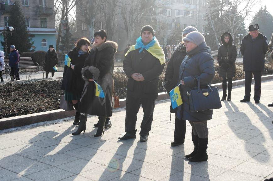 Красноармейск почтил память Героев Небесной сотни и воинов АТО (фото) - фото 26