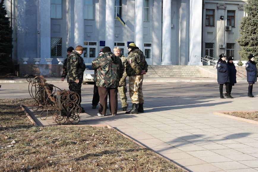 Красноармейск почтил память Героев Небесной сотни и воинов АТО (фото) - фото 25