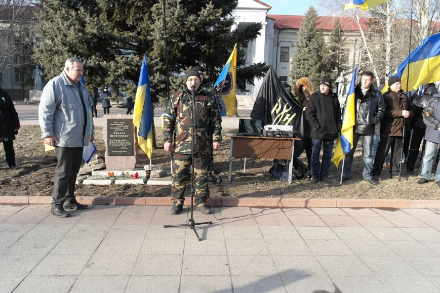 Красноармейск почтил память Героев Небесной сотни и воинов АТО (фото) - фото 24