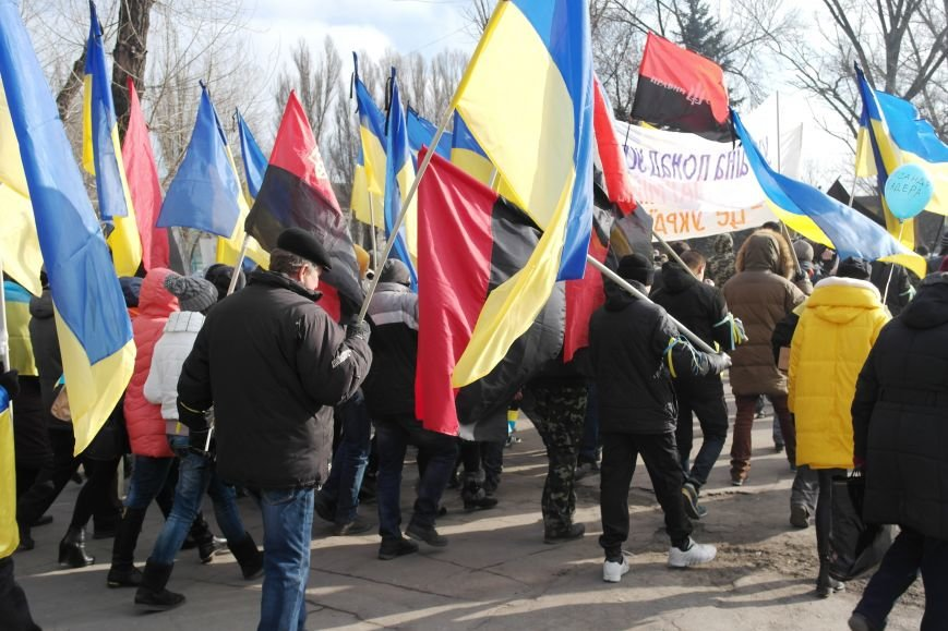 Красноармейск почтил память Героев Небесной сотни и воинов АТО (фото) - фото 15