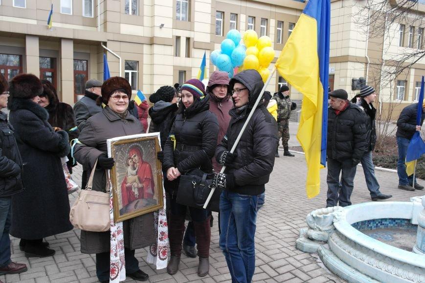 Красноармейск почтил память Героев Небесной сотни и воинов АТО (фото) - фото 3