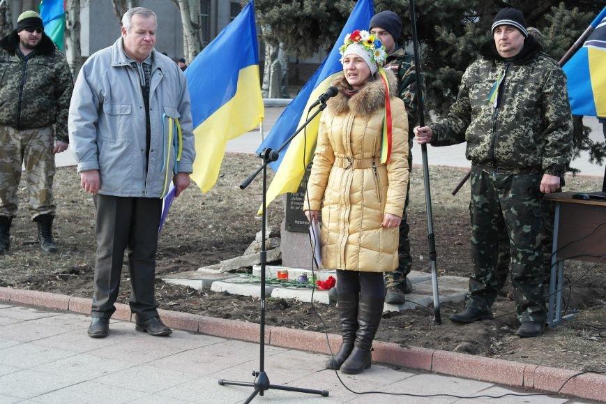 Красноармейск почтил память Героев Небесной сотни и воинов АТО (фото) - фото 20