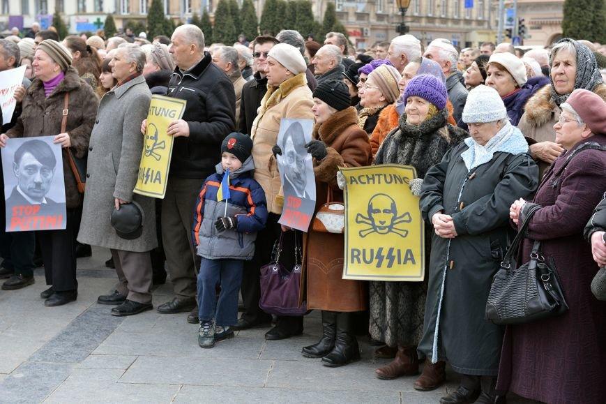 Львів'яни вшанували пам'ять 18 ангелів Небесної сотні та 121 бійця АТО  (ФОТОРЕПОРТАЖ), фото-5