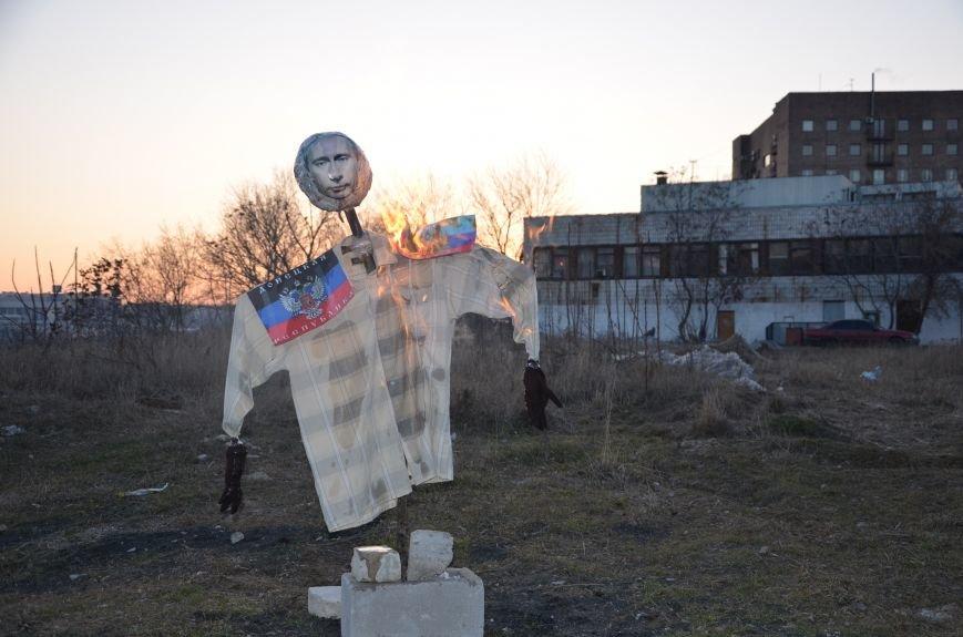В Мариуполе сожгли Путина (ФОТОФАКТ), фото-3