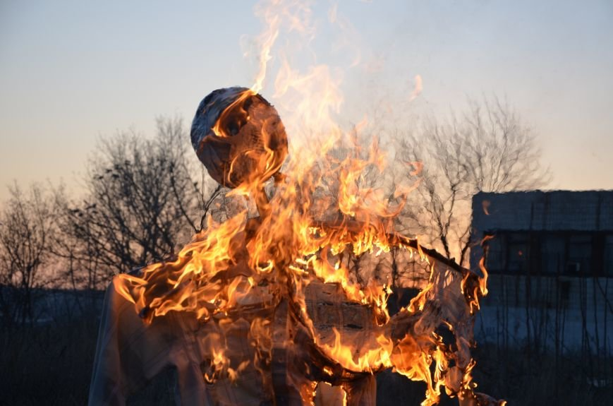 В Мариуполе сожгли Путина (ФОТОФАКТ), фото-5