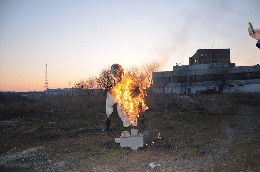 В Мариуполе сожгли Путина (ФОТОФАКТ), фото-7