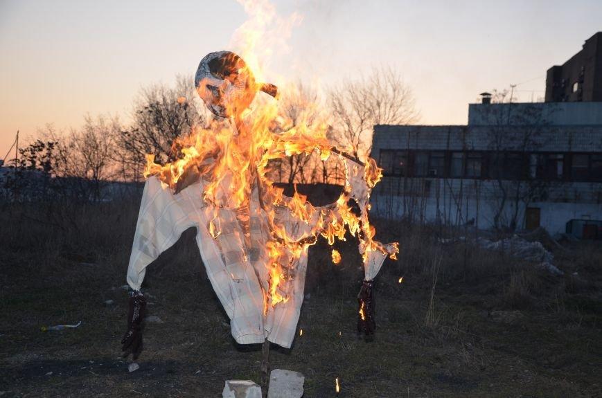 В Мариуполе сожгли Путина (ФОТОФАКТ), фото-6