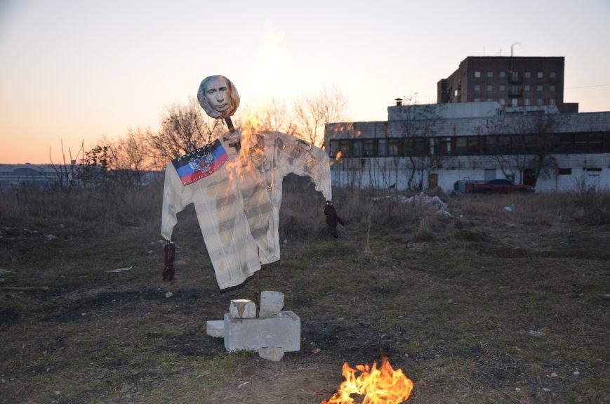 В Мариуполе сожгли Путина (ФОТОФАКТ), фото-4