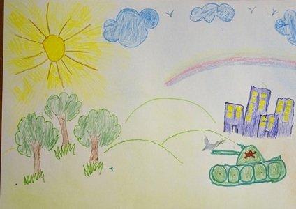 Пусть всегда будет мир: о чем рисуют дети (фото) - фото 1