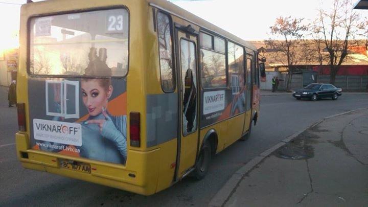 У Львові автобус із розбитим склом перевозить пасажирів (ФОТО), фото-4