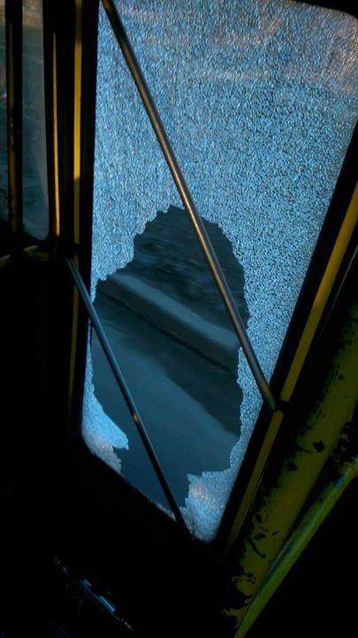 У Львові автобус із розбитим склом перевозить пасажирів (ФОТО), фото-3