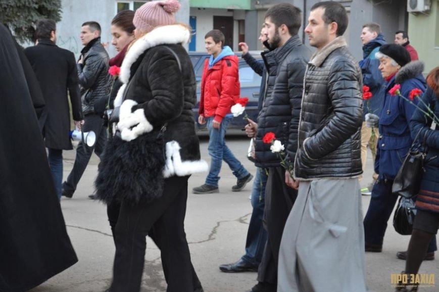В Ужгороді вшанували героїв Небесної Сотні (ФОТОРЕПОРТАЖ) (фото) - фото 7