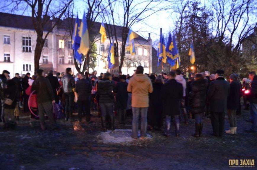 В Ужгороді вшанували героїв Небесної Сотні (ФОТОРЕПОРТАЖ) (фото) - фото 19