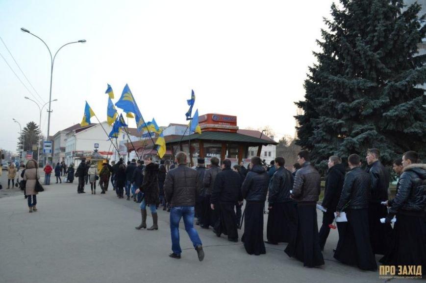 В Ужгороді вшанували героїв Небесної Сотні (ФОТОРЕПОРТАЖ) (фото) - фото 5