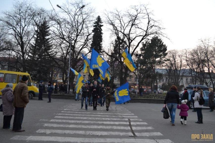 В Ужгороді вшанували героїв Небесної Сотні (ФОТОРЕПОРТАЖ) (фото) - фото 8