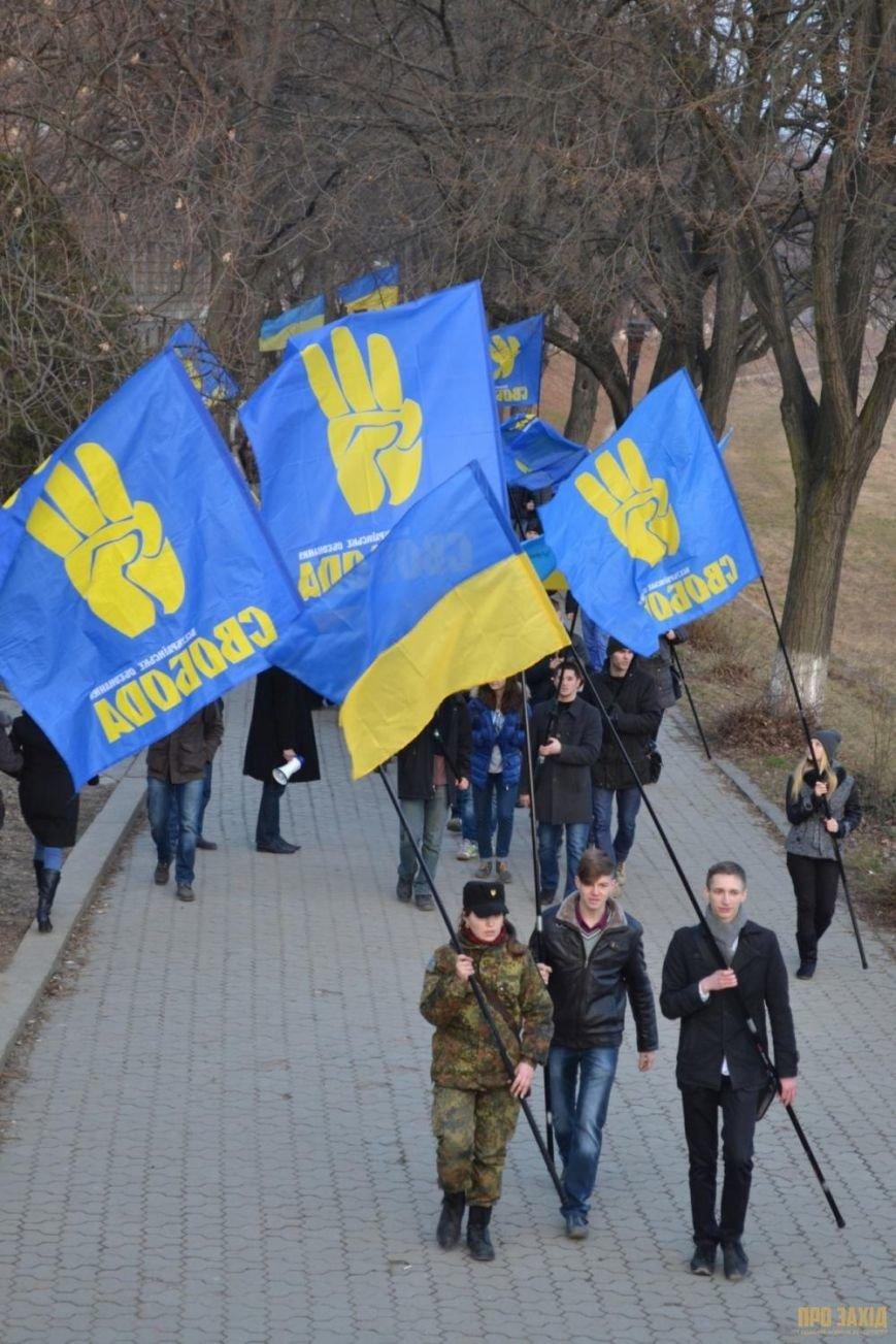 В Ужгороді вшанували героїв Небесної Сотні (ФОТОРЕПОРТАЖ) (фото) - фото 4