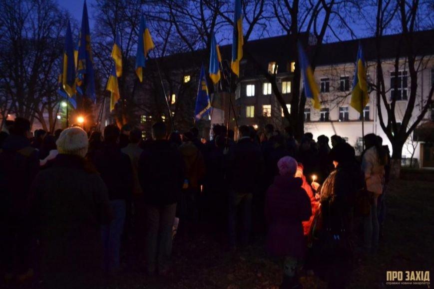 В Ужгороді вшанували героїв Небесної Сотні (ФОТОРЕПОРТАЖ) (фото) - фото 21