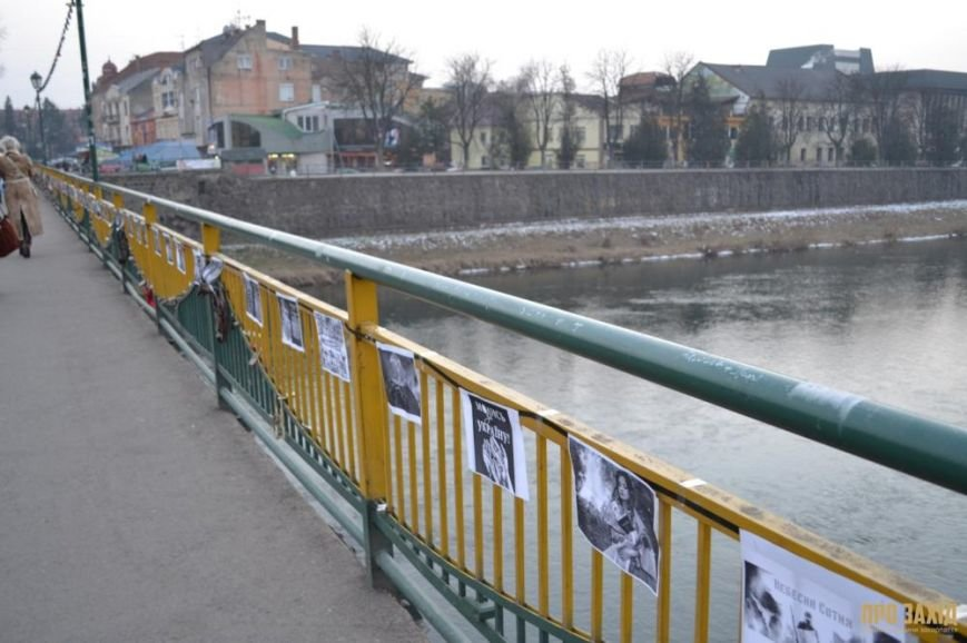 В Ужгороді вшанували героїв Небесної Сотні (ФОТОРЕПОРТАЖ) (фото) - фото 13