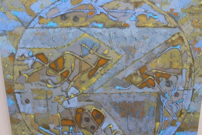 Группа художников «ХарБарБонд» презентовала свою выставку живописи в Мариуполе (ФОТО), фото-8
