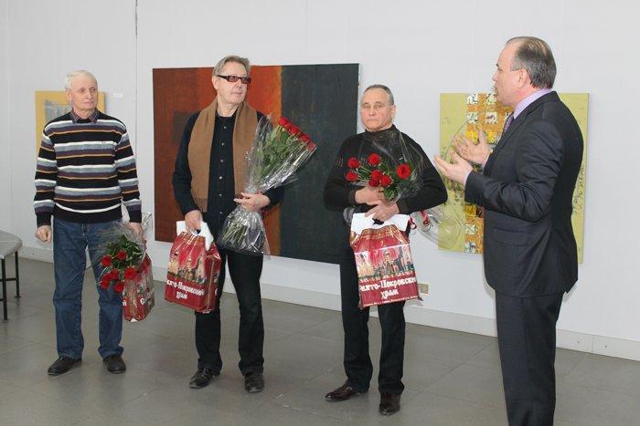 Группа художников «ХарБарБонд» презентовала свою выставку живописи в Мариуполе (ФОТО), фото-10