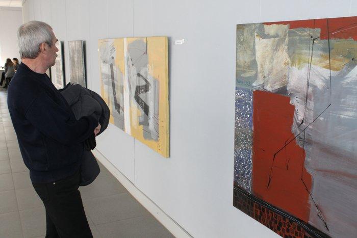 Группа художников «ХарБарБонд» презентовала свою выставку живописи в Мариуполе (ФОТО), фото-7