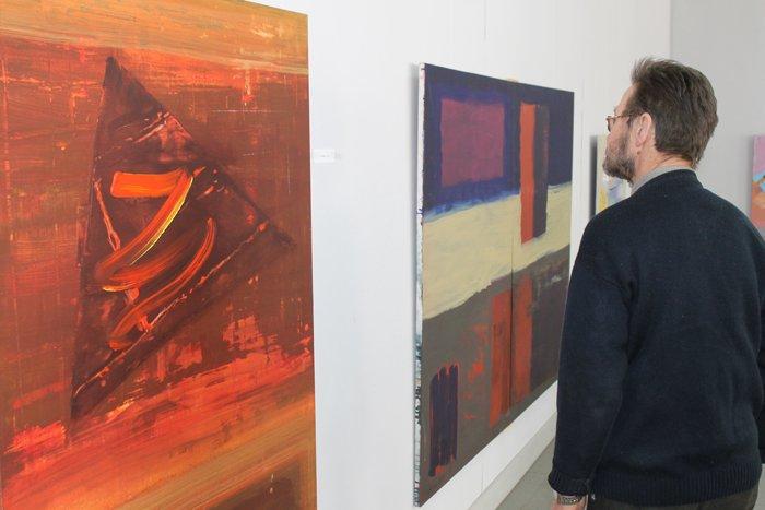 Группа художников «ХарБарБонд» презентовала свою выставку живописи в Мариуполе (ФОТО), фото-5