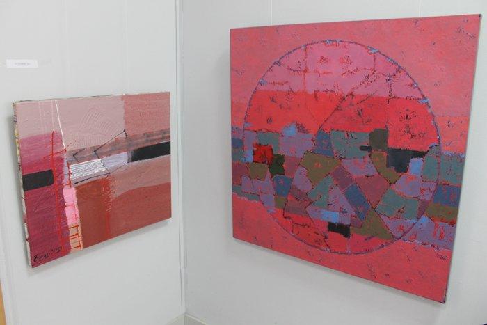 Группа художников «ХарБарБонд» презентовала свою выставку живописи в Мариуполе (ФОТО), фото-11