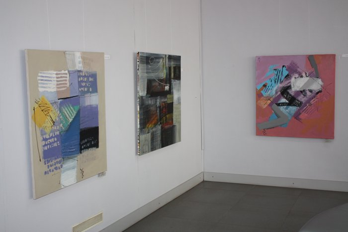 Группа художников «ХарБарБонд» презентовала свою выставку живописи в Мариуполе (ФОТО), фото-1