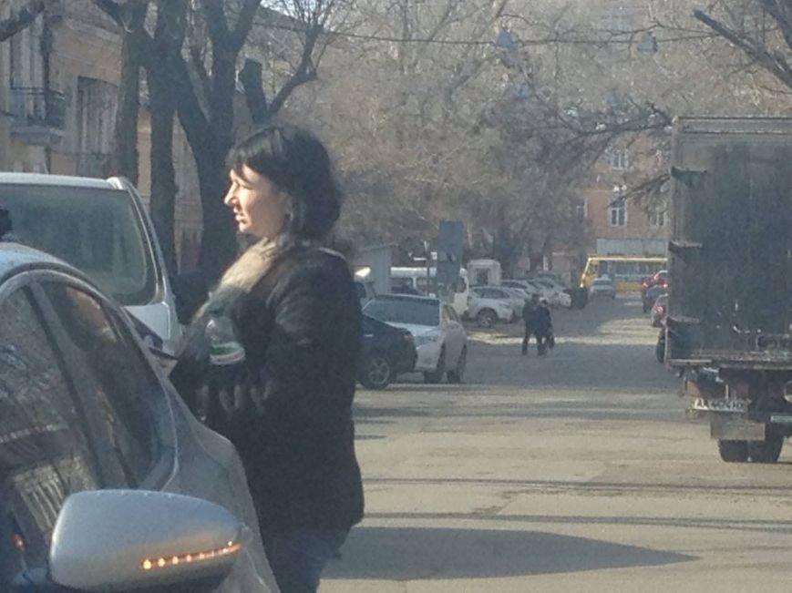 В центре Одессы в ДТП попал активист РГБ (ФОТО) (фото) - фото 1