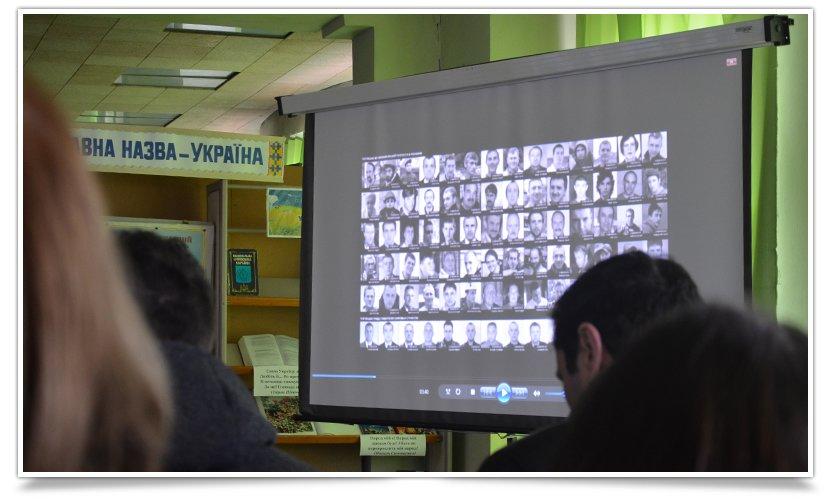 В Центральной библиотеке Славянска прошла встреча с участниками Майдана (фото) - фото 2