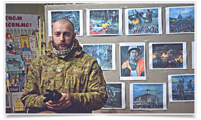 В Центральной библиотеке Славянска прошла встреча с участниками Майдана (фото) - фото 4