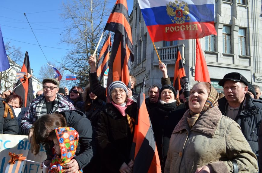 В Симферополе прошел митинг движения «Антимайдан» за суверенитет России и политику Владимира Путина (ФОТО), фото-14