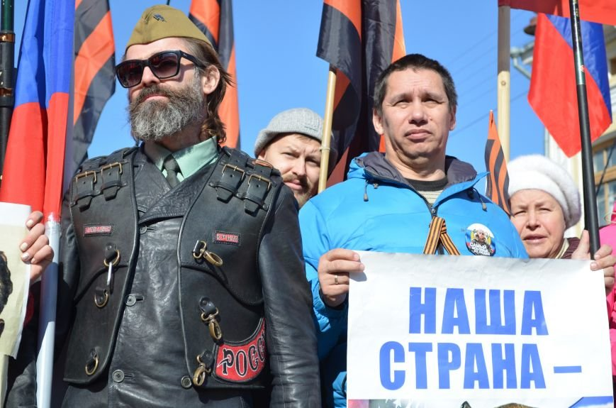 В Симферополе прошел митинг движения «Антимайдан» за суверенитет России и политику Владимира Путина (ФОТО), фото-12