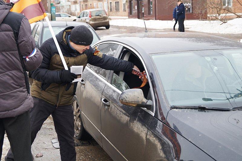 Участник акции против «пятой колонны» в Белгороде: «Президент – слово не совсем российское» (фото) - фото 2