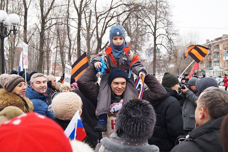 Участник акции против «пятой колонны» в Белгороде: «Президент – слово не совсем российское» (фото) - фото 1