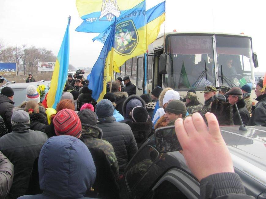 «Спасибо, что живы! Мы помним Иловайск» - криворожане встречали своих героев (ФОТО), фото-13