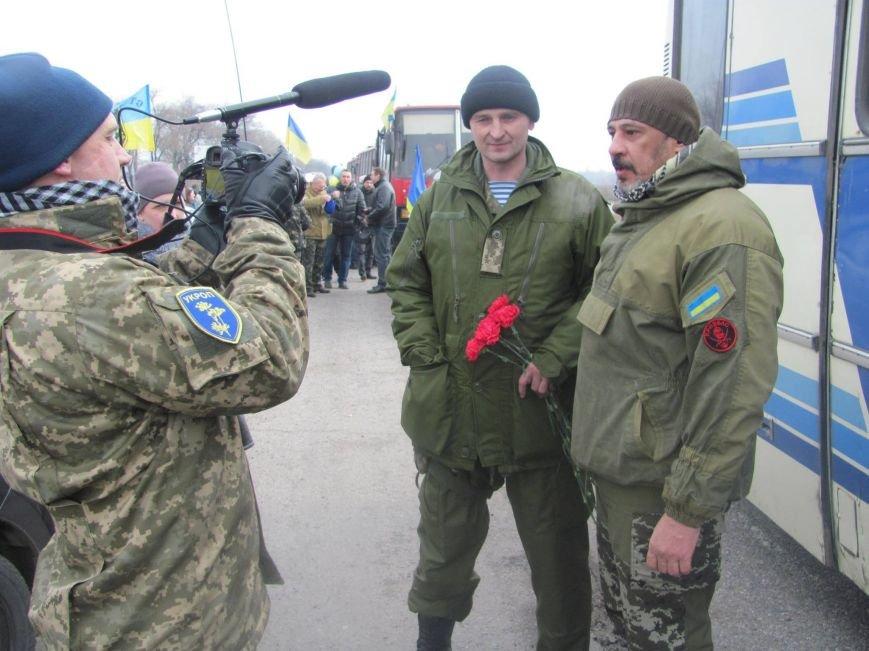 «Спасибо, что живы! Мы помним Иловайск» - криворожане встречали своих героев (ФОТО), фото-5