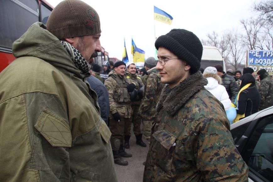 «Спасибо, что живы! Мы помним Иловайск» - криворожане встречали своих героев (ФОТО), фото-25