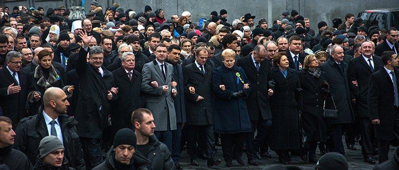 В Киеве Президент и представители европейских государств приняли участие в Марше Достоинства (ФОТОРЕПОРТАЖ), фото-4