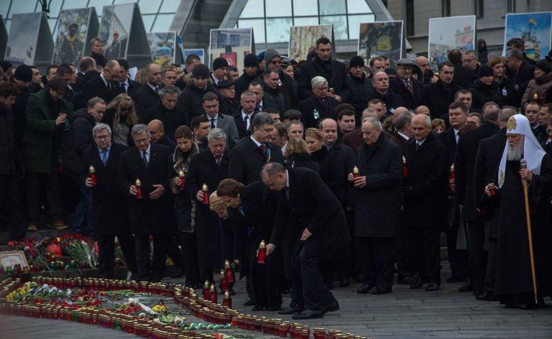 В Киеве Президент и представители европейских государств приняли участие в Марше Достоинства (ФОТОРЕПОРТАЖ), фото-8