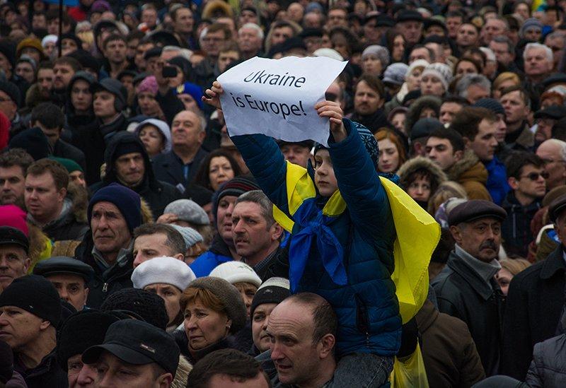 В Киеве Президент и представители европейских государств приняли участие в Марше Достоинства (ФОТОРЕПОРТАЖ), фото-6