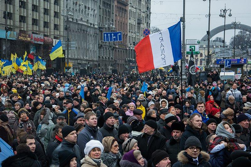 В Киеве Президент и представители европейских государств приняли участие в Марше Достоинства (ФОТОРЕПОРТАЖ), фото-7