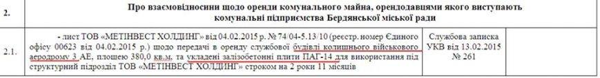 Компания Ахметова замахнулась на Бердянский военный аэродром (фото) - фото 1