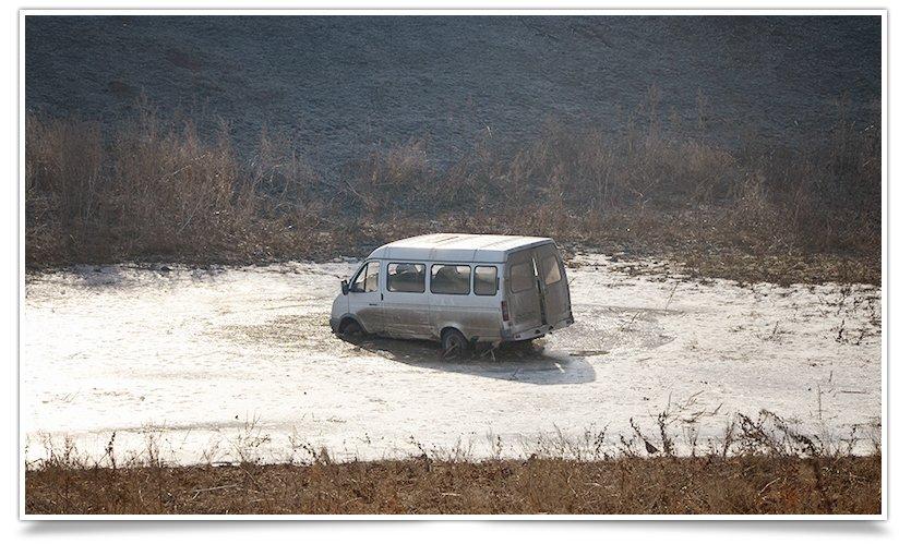 Таинственная «Газель» в карьере на Артёма (фотофакт) (фото) - фото 3
